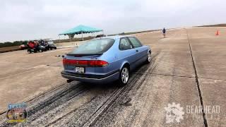1996 SAAB 900 Turbo - 174mph standing mile