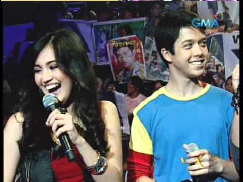 "JuliElmo/Richard Gutierrez Spiel w/ kiss ""1st Time Party Pilipinas 7/17/11"