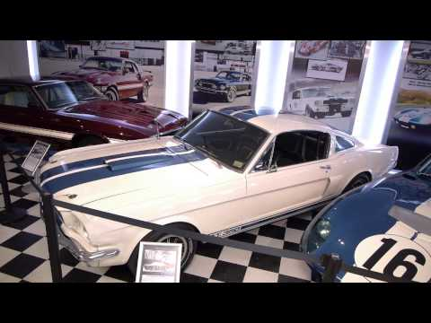 Shelby American museum and shops Las Vegas