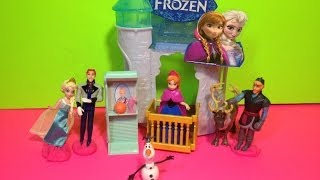 FROZEN Flip N' Switch Castle Disney Princess Anna Playset