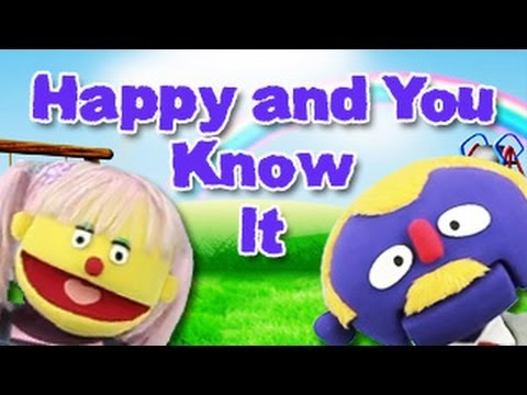 If You Are Happy And You Know It Nursery Rhyme With Lyrics