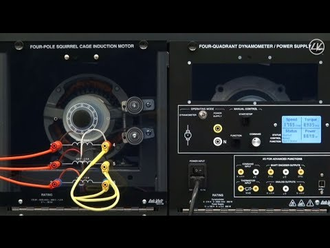 How to use the 4-quadrant dynamometer / power supply?