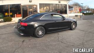 Cleanly Modified Audi S5 videos