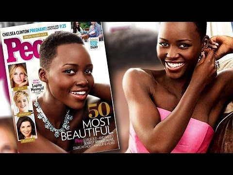 Lupita N'yongo People Magazine's Most Beautiful Person 2014