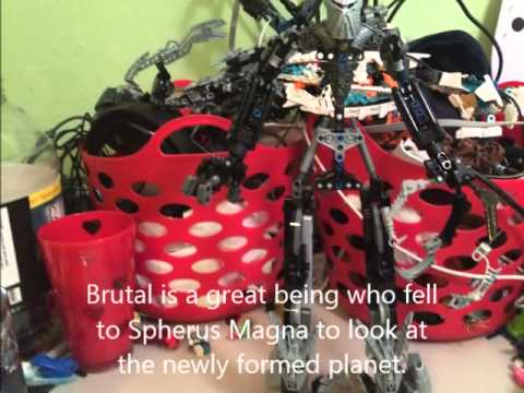 Bionicle MOC Slideshow Brutal Exiled Great Being (Entry for David Hong's Moc Contest 1)