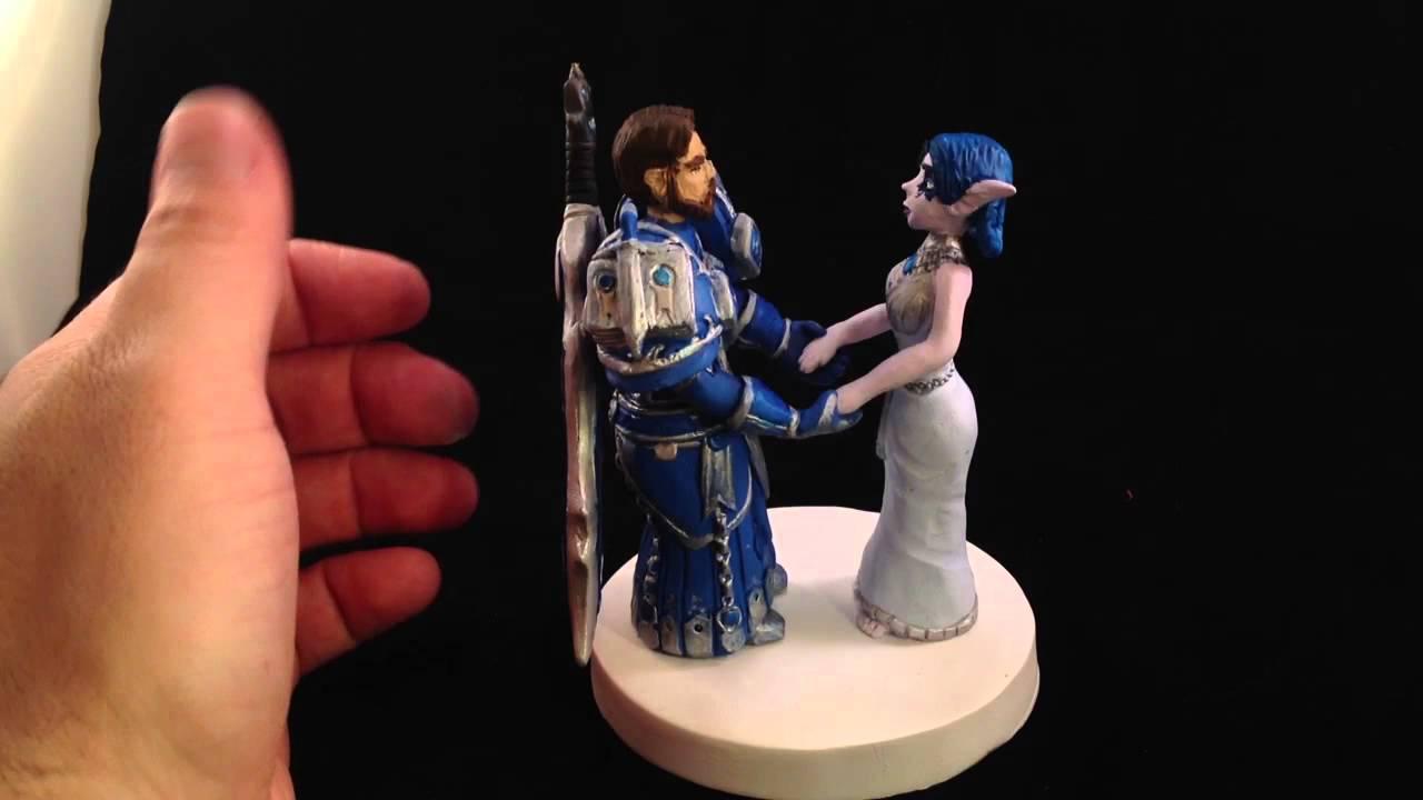 World Of Warcraft Wedding Cake Topper