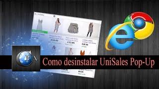 Desinstalar UniSales Pop-Up (UniSales Removal Guide)