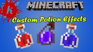 Minecraft Tutorial How To Get Potions With Custom