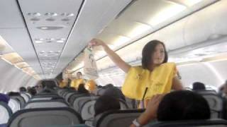 Cebu Pacific Flight Attendants dancing