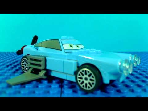 Lego cars 2 escape at sea