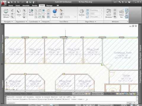 AutoCAD Architecture 2012 - Demo - Design Revisions