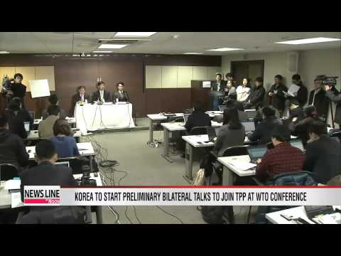 Korea starts preliminary bilateral talks to join TPP