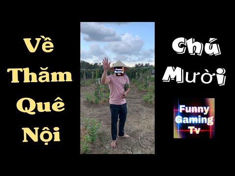 Vlog | FUNNY GAMING TV về quê thăm nội | Ngày cuối tuần của Funny
