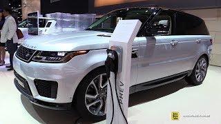 2018 Range Rover Sport Plug In Hybrid P400e HSE - Exterior Interior Walkaround - 2017 LA Auto Show