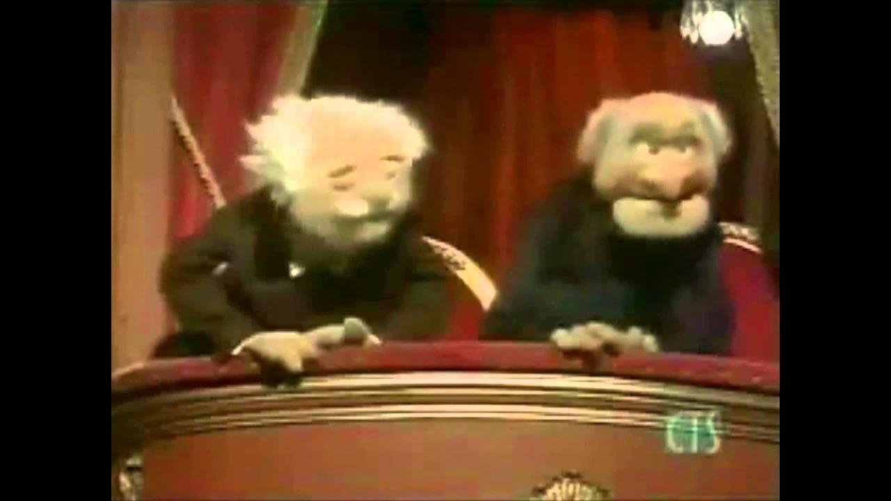 muppets statler and waldorf evil eye youtube. Black Bedroom Furniture Sets. Home Design Ideas