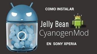Instalar Android Jelly Bean 4.1 En Sony Xperia Modelos