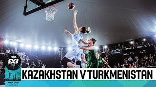 FIBA 3x3 Asia Cup among women's teams 2018 - Group stage: Kazakhstan - Turkmenistan