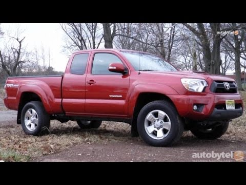 2015 Toyota Tacoma TRD Sport Pickup Truck Test Drive Video Review