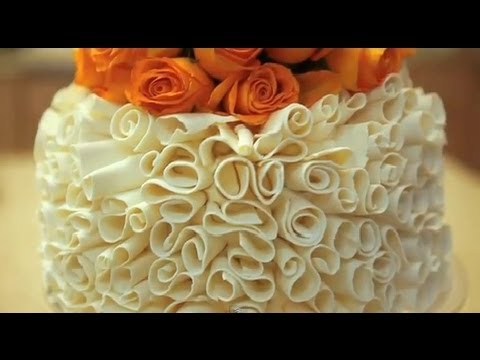 Image Result For Cake Decorating How To Make White Chocolate Curls