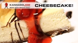 Kamado Joe Cheesecake