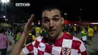 Brazil Fans Celebrate Victory
