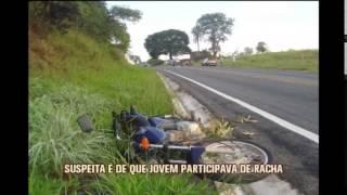 Motociclista inabilitado morre em acidente