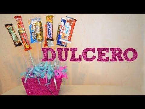 DULCERO PARA REGALAR   Ideas de regalo para el DÍA DE LAS MADRES 10 DE MAYO   manualidades