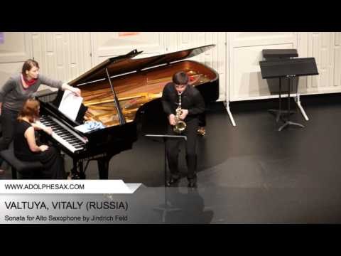 Dinant 2014 - VATULYA Vitaly (Sonate pour Saxophone Alto by Jindrich Feld)