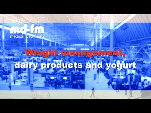 MD_FM - EB SUMMIT 2013 - Weight management, dairy products & yogurt