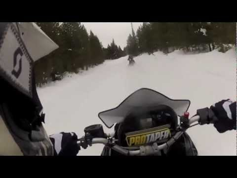 Yellowstone in Motoslitta 2013