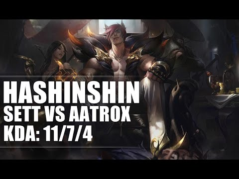 Hashinshin Sett vs Aatrox TOP - S9 Ranked Gameplay