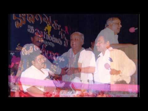 Ravela Kishore Babu with Kanshiram Ji