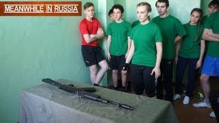 AK-74: Fast Assembly & Disassembly In Russian School