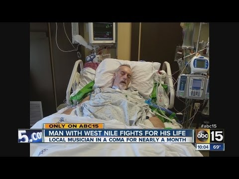 Man with West Nile Virus fights for his life