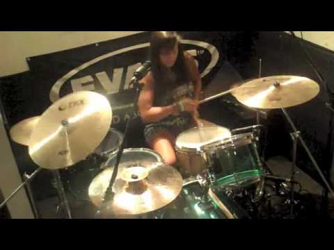 Pierce the Veil - King for a Day (Drum cover by Brittany Maccarello)