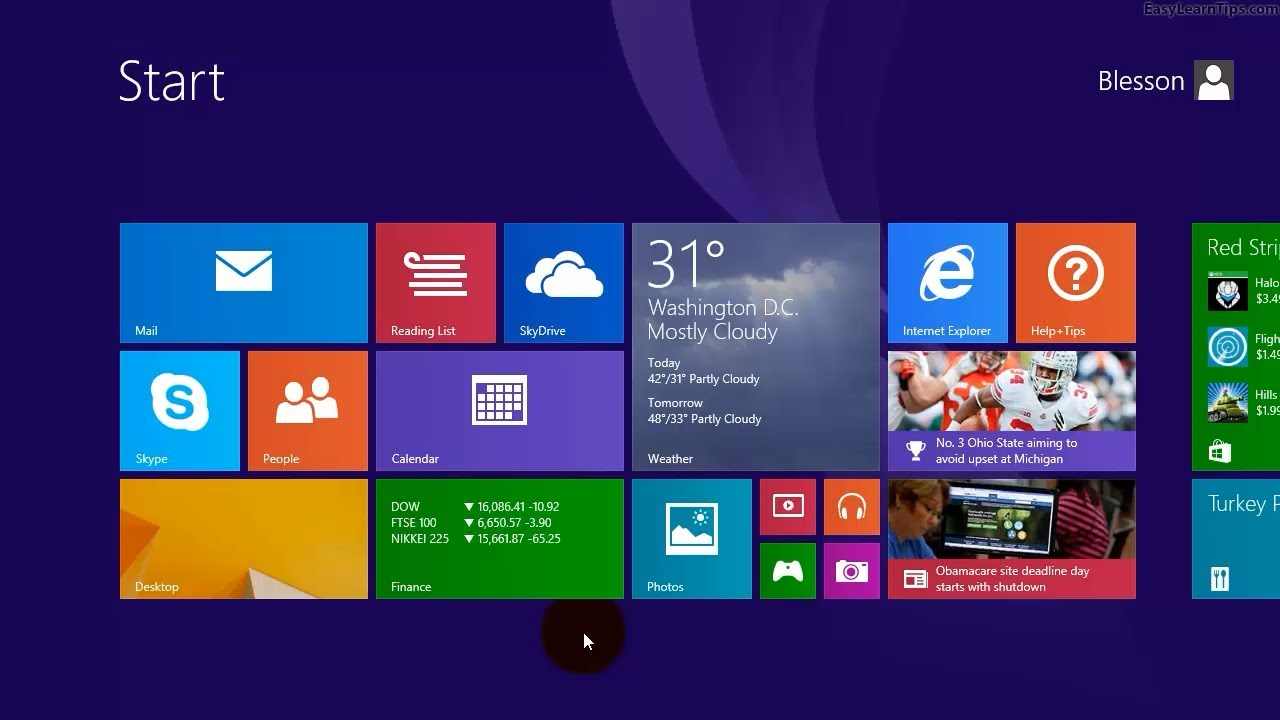Windows 8.1 - Create desktop icon for My Computer or This PC - YouTube