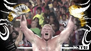 "WWE Brock Lesnar ""New WWE Champion"" Titantron Entrance"
