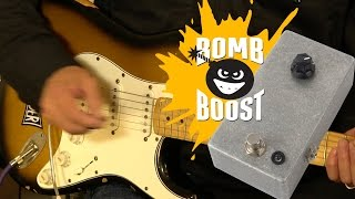 Watch the Trade Secrets Video, JHS Bomb Boost Pedal Kit Video