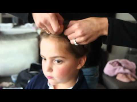 Mums in paris coiffure enfant couronne de tresse youtube - Coiffure enfant tresse ...