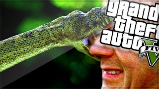 JOSH IS A SNAKE! (GTA 5 Funny Moments)
