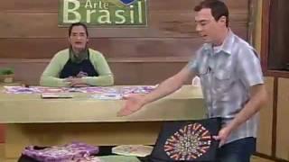 ARTE BRASIL MARINA UGO CALEIDOSCÓPIO EM PATCHWORK (24