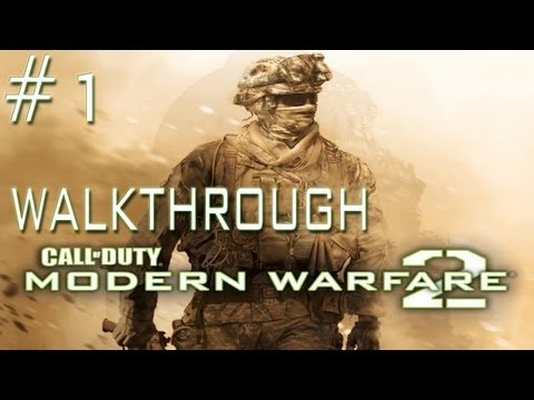 Call of Duty: Modern Warfare 2 - Walkthrough - Mission 1 SSDD (PC/PS3/Xbox 360)