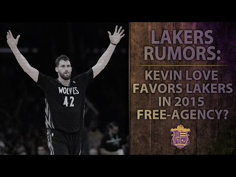 Lakers Rumors: Kevin Love Favoring Los Angeles Lakers In Free Agency?