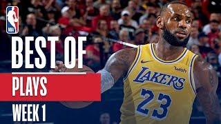 NBA's Best Plays | Week 1
