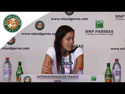 Press conference Ana Ivanovic 2014 French Open R1