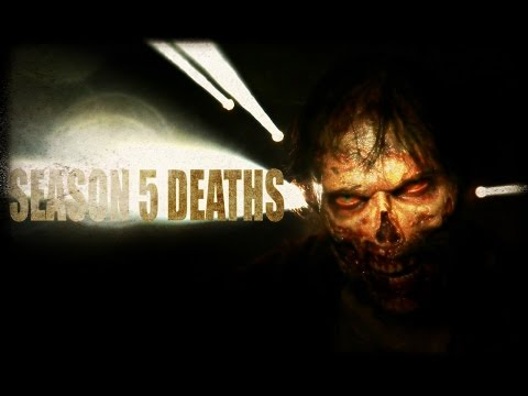 The Walking Dead Season 5 | All Walker and Character Deaths