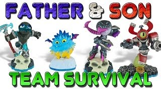 Skylanders Swap Force: Team Survival (Arena Modes) Part