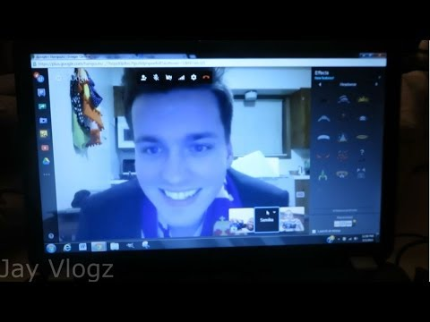 GOOGLE HANGOUT WITH THE UGV! (3. 3. 14 - Day 4)