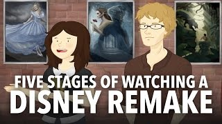 Five Stages of Watching a Disney Remake