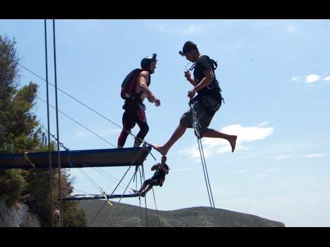 ROPE JUMP & BASE JUMP in Zakyntos - Dream Walker 3